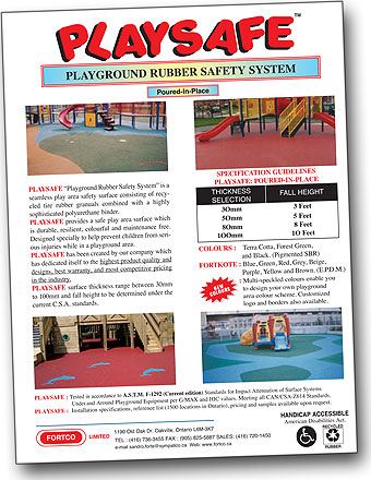 Playsafe Brochure