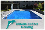 www.rubberdeck.ca - Residential Pool & Patio Decking